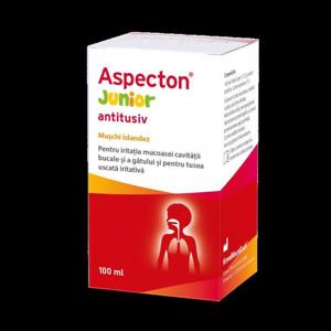 Aspecton junior antitusiv 100ml (Krewel Meuselbach)