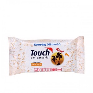 Touch Serv. Umede Antibact. Exotique x 15buc